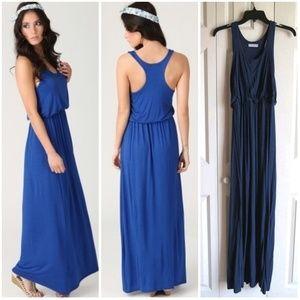 Lush Navy Maxi Dress